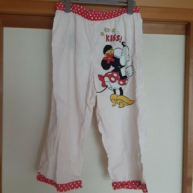 Disney(ディズニー)のディズニー公式 ミニー ルームウェア ステテコパンツ レディースのルームウェア/パジャマ(ルームウェア)の商品写真