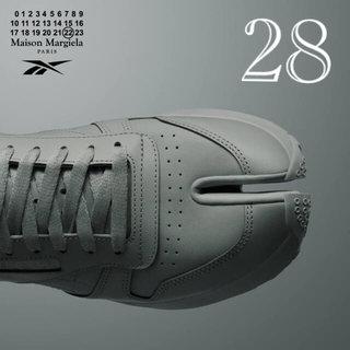 マルタンマルジェラ(Maison Martin Margiela)の【新品】メゾンマルジェラ x リーボック TABI タビスニーカー 28(スニーカー)