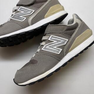 New Balance - ニューバランス キッズ グレー 19cm