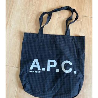 アーペーセー(A.P.C)のa.p.cギンガムチェックバッグ(トートバッグ)