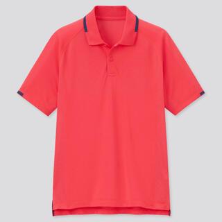 ユニクロ(UNIQLO)のRF ドライポロシャツ ロゴなし 全仏 フェデラー 2021 限定 M FRA(ウェア)