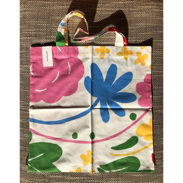 marimekko(マリメッコ)の完売 新品 未使用 marimekko マリメッコ ファブリックバッグ オンニ レディースのバッグ(トートバッグ)の商品写真