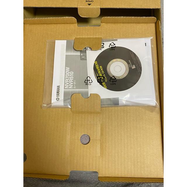 YAMAHA ヤマハルーターNVR510 スマホ/家電/カメラのPC/タブレット(PC周辺機器)の商品写真