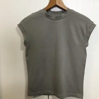 MUJI (無印良品) -       無印良品 MUJI 太番手天竺編みフレンチスリーブTシャツ XS