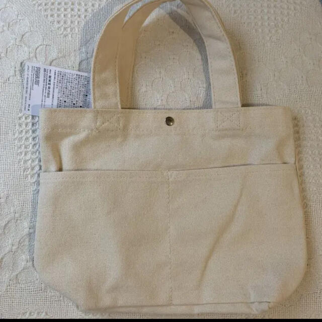 SNOOPY(スヌーピー)の《新品 タグ付き》スヌーピー  ミニトートバッグ   横フェイス レディースのバッグ(トートバッグ)の商品写真
