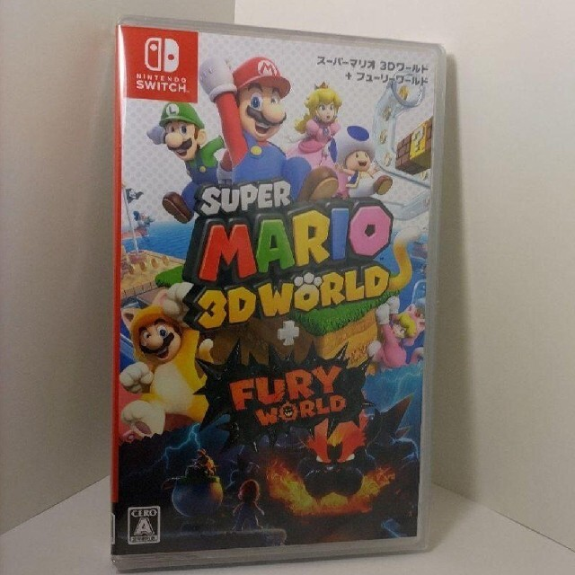 Nintendo Switch(ニンテンドースイッチ)の【新品未開封】スーパーマリオ 3Dワールド + フューリーワールド Switch エンタメ/ホビーのゲームソフト/ゲーム機本体(家庭用ゲームソフト)の商品写真