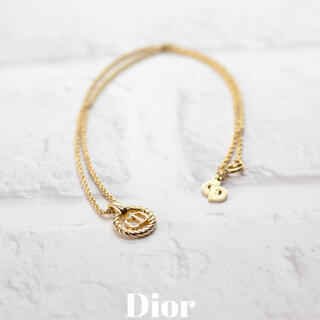 クリスチャンディオール(Christian Dior)のDior クリスチャンディオール ネックレス(ネックレス)