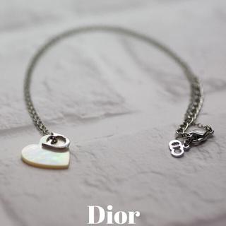 クリスチャンディオール(Christian Dior)のクリスチャンディオール ハート シェルネックレス(ネックレス)