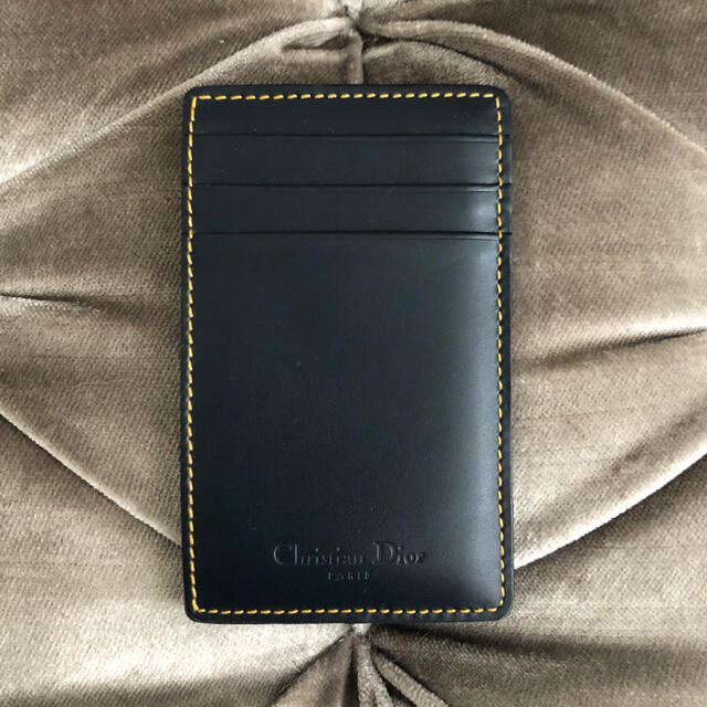 Christian Dior(クリスチャンディオール)のクリスチャンディオール 💙 トロッター ヴィンテージ カードケース レディースのファッション小物(名刺入れ/定期入れ)の商品写真