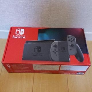 ニンテンドースイッチ(Nintendo Switch)の【新品未開封】ニンテンドースイッチ本体(家庭用ゲーム機本体)