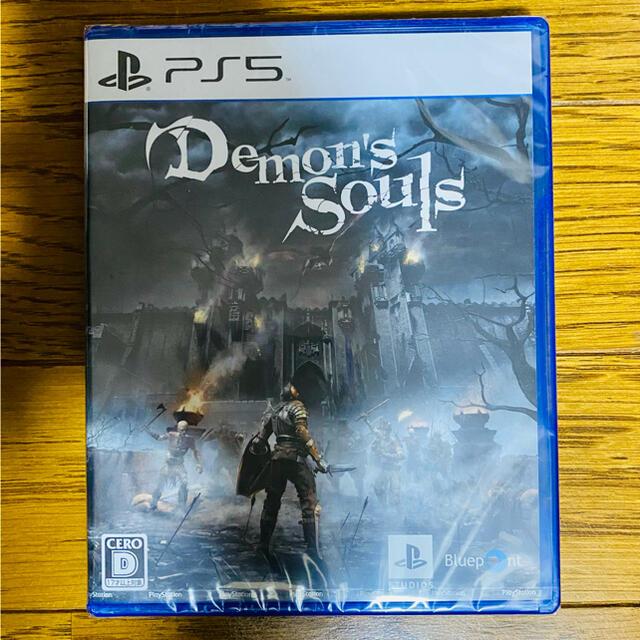 PlayStation(プレイステーション)のデモンズソウル PS5 ソフト新品未開封 エンタメ/ホビーのゲームソフト/ゲーム機本体(家庭用ゲームソフト)の商品写真