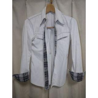 イサムカタヤマバックラッシュ(ISAMUKATAYAMA BACKLASH)のバックラッシュ ピッグスキンウエスタンシャツ/BACKLASH(シャツ)