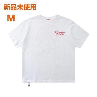 ジーディーシー(GDC)の【新品未使用】Girls Don't Cry×Human Made Tシャツ 白(Tシャツ/カットソー(半袖/袖なし))
