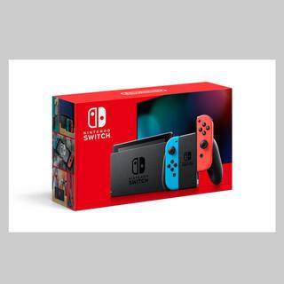 ニンテンドースイッチ(Nintendo Switch)の[新品] ニンテンドー スイッチ Switch (ネオンブルー/レッド) 本体(家庭用ゲーム機本体)