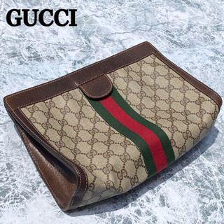 グッチ(Gucci)のGUCCI OLD オールド グッチ クラッチバッグ GGスプリーム(クラッチバッグ)