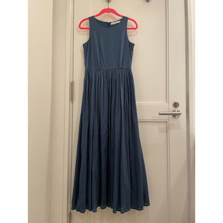 UNITED ARROWS - マリハ Mariha 夏のレディのドレス ブルー