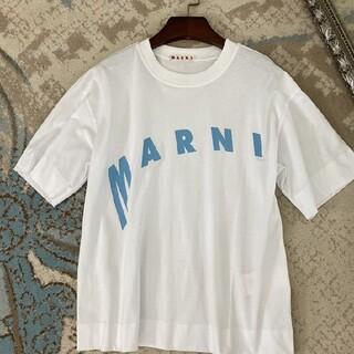 Marni - 【38】週末お値下げ!大人気!MARNI マルニ ロゴ Tシャツ