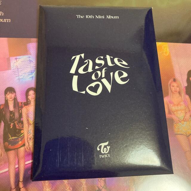 Waste(twice)(ウェストトゥワイス)のTWICE 特典トレカセット エンタメ/ホビーのCD(K-POP/アジア)の商品写真