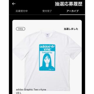 adidas - サイズL adidas Graphic Tee x Kyneキネ Tシャツ