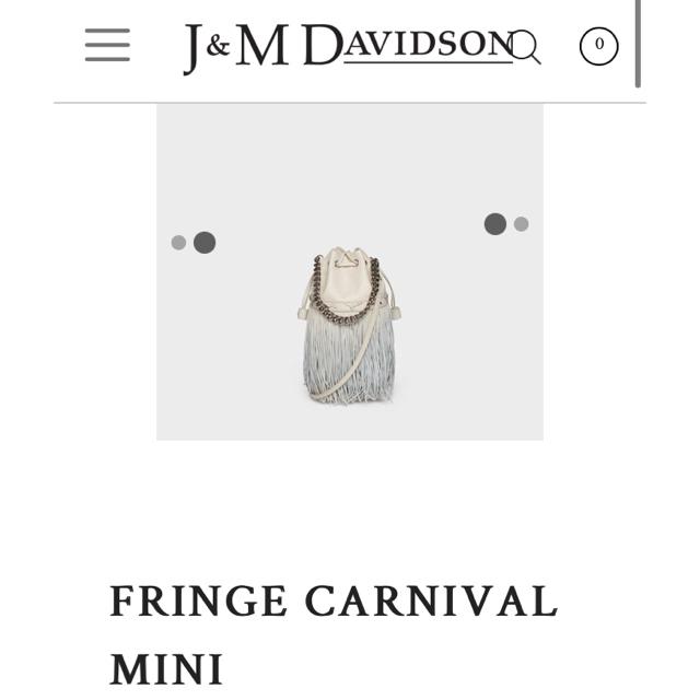 J&M DAVIDSON(ジェイアンドエムデヴィッドソン)のJ&M DAVIDSON レディースのバッグ(ショルダーバッグ)の商品写真