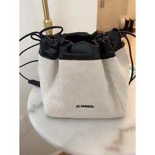 新品 JIL SANDER ショルダーバッグ 巾着バッグ ドローストリングバッグ