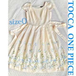 TOCCA - TOCCA ワンピース サイズ0