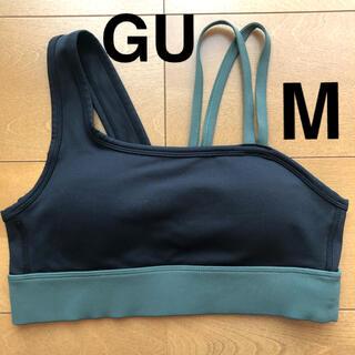 GU - GU (ジーユー) ブラトップ(M)*美品*限定デザイン*