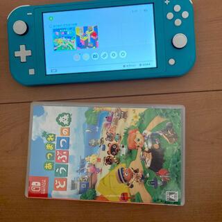 Nintendo Switch - Nintendo Switch Lite ターコイズ本体 ソフト中古品 動作品