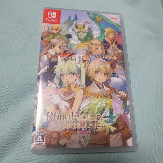 Nintendo Switch(ニンテンドースイッチ)のルーンファクトリー4スペシャル Switch エンタメ/ホビーのゲームソフト/ゲーム機本体(家庭用ゲームソフト)の商品写真