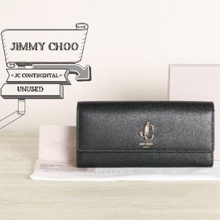 JIMMY CHOO - ジミー チュウ 未使用 JC CONTINENTAL 二つ折り 長財布