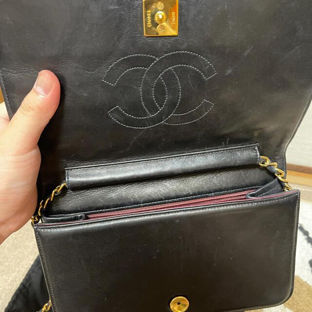 CHANEL(シャネル)のシャネル マトラッセ チェーンショルダー フルフラップ 23 レディースのバッグ(ショルダーバッグ)の商品写真