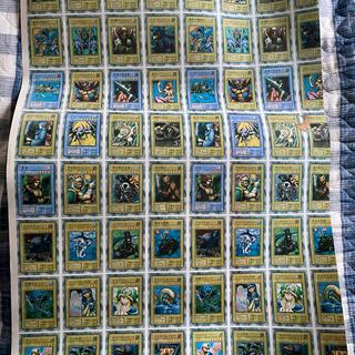遊戯王 - 遊戯王カード 初期 カード 未裁断 分断前 ポスター エラーカード