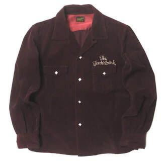 TENDERLOIN - TENDERLOIN T-CORDUROY SHT オープンカラーシャツ メンズ