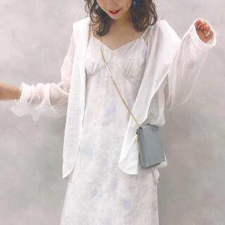 one after another NICE CLAUP - 新品 NICE CLAUP ❤︎ シアーテーラードジャケット