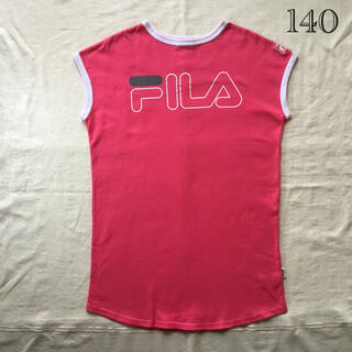 FILA - フィラ ロゴワンピース 140