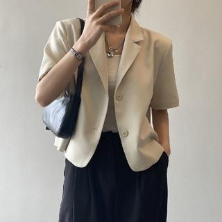 半袖 サマー ジャケット 【5color・4size】