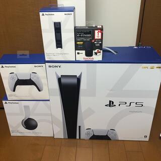 SONY - PS5本体周辺機器フルセット!7%OFFクーポン本日まで!