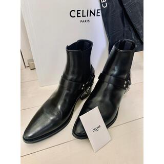 celine - CELINE カマルグ ブーツ BIKER CHELSEA BOOT 41