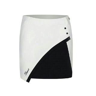 新品未使用 Titleistゴルフスカート  ホワイト  L