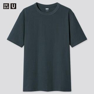 UNIQLO クルーネックTシャツ BLUE