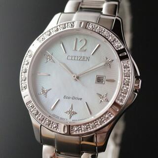 CITIZEN - 【定価6.3万円】シチズン エコドライブ レディース腕時計 ダイヤモンド23石