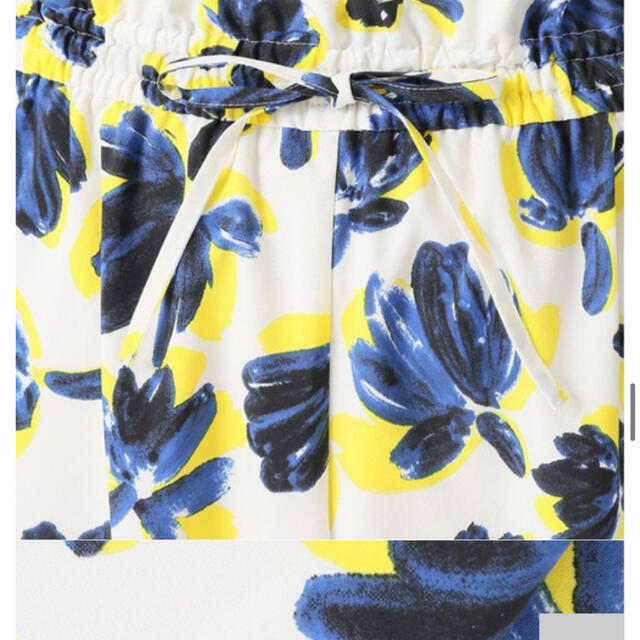 IENA(イエナ)のフラワープリントイージーパンツ IENA イエナ レディースのパンツ(カジュアルパンツ)の商品写真