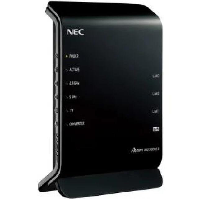 NEC(エヌイーシー)の【値下げしました】NEC 無線LANルーター スマホ/家電/カメラのPC/タブレット(PC周辺機器)の商品写真
