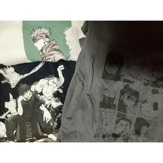 UNIQLO - ユニクロ 呪術廻戦Tシャツ UT 五条悟 伏黒恵 一年 二年 京都高 三枚 XL