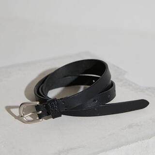 HARE - LIDNM OILED LEATHER NARROW BELT