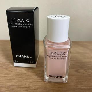 CHANEL - Chanel ルブラン フェイスカラー ロージードロップス