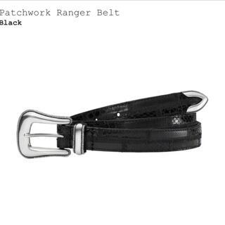 シュプリーム(Supreme)のSupreme Patchwork Ranger Belt  L/XL(ベルト)