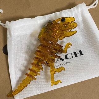 COACH - 【新品・未使用】coach レキシー  恐竜 キーホルダー バッグチャーム