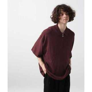 ハレ(HARE)のBIGハーフZIPニット(HARE)(Tシャツ/カットソー(半袖/袖なし))