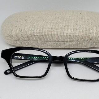 白山眼鏡店 白山眼鏡 SMALL SCOTT スモールスコット 黒 伊達メガネ